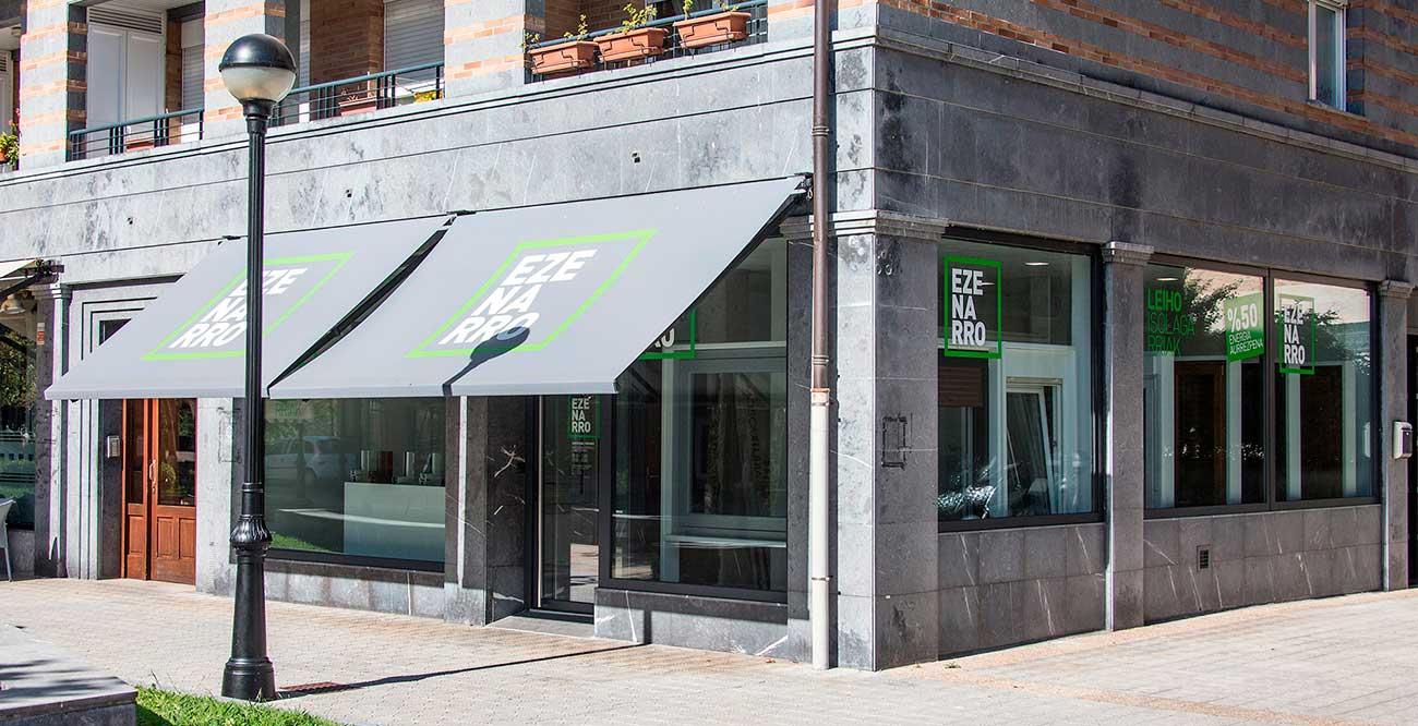 Tienda de Ezenarro Leihoak en Tolosa, Gipuzkoa